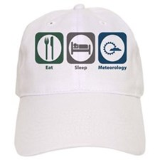 Eat Sleep Meteorology Baseball Cap