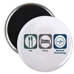 Eat Sleep Medical Technology Magnet