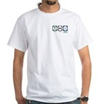 Eat Sleep Medical Technology White T-Shirt