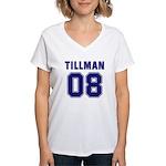Tillman 08 Women's V-Neck T-Shirt
