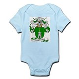 Saldana Family Crest Infant Creeper