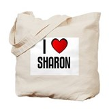 I LOVE SHARON Tote Bag