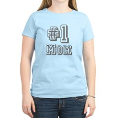 #1 Mom / Mother's Day Women's Light T-Shirt