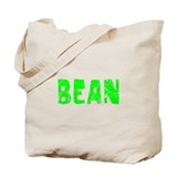 Bean Faded (Green) Tote Bag