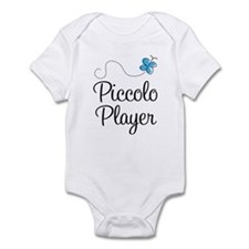 Butterfly Piccolo Player Infant Bodysuit