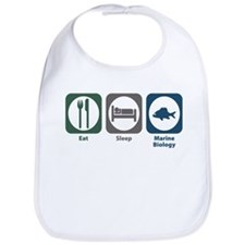 Eat Sleep Marine Biology Bib