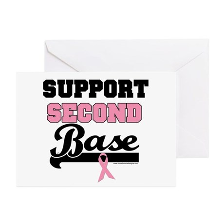 Support 2nd Base (v1) Greeting Cards (Pk of 10)
