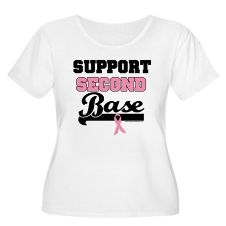 Support 2nd Base (v1) Women's Plus Size Scoop Neck