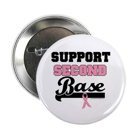 "Support 2nd Base (v1) 2.25"" Button (10 pack)"