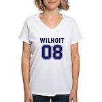 WILHOIT 08 Women's V-Neck T-Shirt