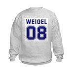 WEIGEL 08 Kids Sweatshirt