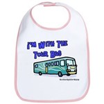 I'm With The Tour Bus Bib