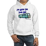I'm With The Tour Bus Hooded Sweatshirt