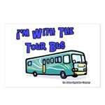 I'm With The Tour Bus Postcards (Package of 8)
