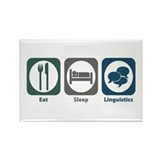 Eat Sleep Linguistics Rectangle Magnet (10 pack)