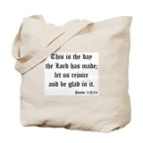 Psalm 118:24 Tote Bag
