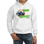 Dump Expert Truck Design Hooded Sweatshirt