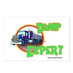 Dump Expert Truck Design Postcards (Package of 8)