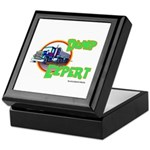 Dump Expert Truck Design Keepsake Box