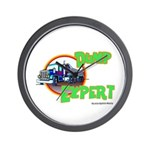 Dump Expert Truck Design Wall Clock