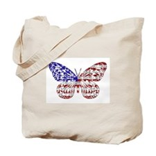 American Butterfly Tote Bag