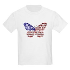 American Butterfly Kids T-Shirt