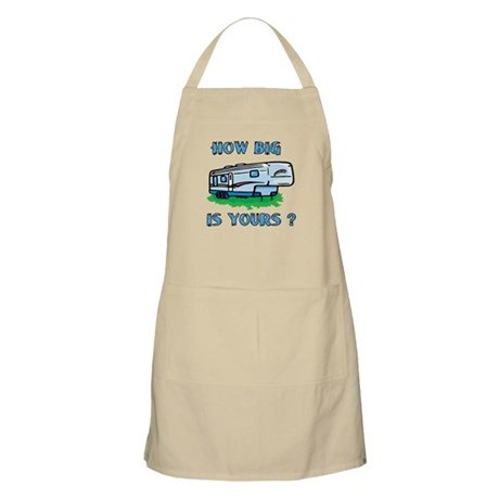 How big is yours? BBQ Apron