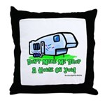 Drop A House On You Throw Pillow