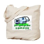 Drop A House On You Tote Bag
