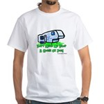Drop A House On You White T-Shirt