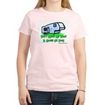 Drop A House On You Women's Pink T-Shirt
