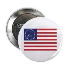 """Peace Flag 2.25"""" Button (10 pack)"""