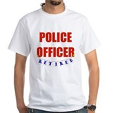 Retired Police Officer Shirt