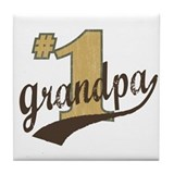 #1 Grandpa Tile Coaster