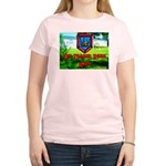 The Trailer Park King Women's Pink T-Shirt