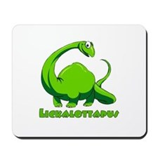 Lickalottapus Mousepad