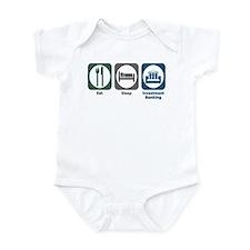 Eat Sleep Investment Banking Infant Bodysuit