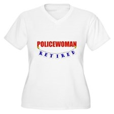 Retired Policewoman T-Shirt