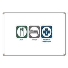 Eat Sleep Internal Medicine Banner