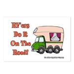 RV'ers Do It On The Road Postcards (Package of 8)