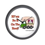 RV'ers Do It On The Road Wall Clock
