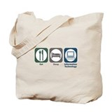 Eat Sleep Information Technology Tote Bag