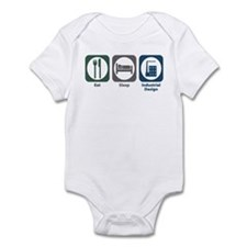 Eat Sleep Industrial Design Infant Bodysuit
