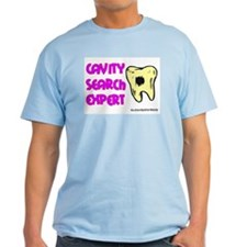 Dental Cavity Search Expert Ash Grey T-Shirt