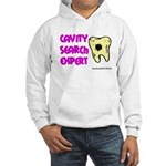 Dental Cavity Search Expert Hooded Sweatshirt