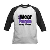 I Wear Purple For My Brother Tee