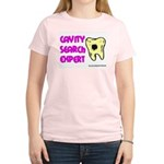 Dental Cavity Search Expert Women's Pink T-Shirt