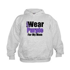 I Wear Purple For My Mom Hoodie