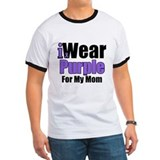 I Wear Purple For My Mom T