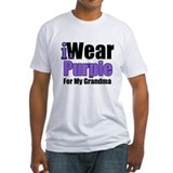 I Wear Purple For Grandma Shirt